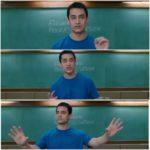 Aamir khan as Rancho explaining in 3 idiots blank meme template