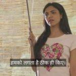 Shriya Pilgaonkar As Sweety Gupta Meme Template and dialogue in Mirzapur humko lagta hai theek hi kiye