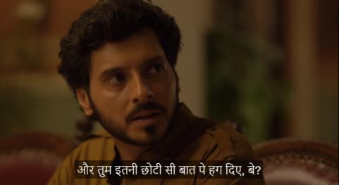 Divyendu Sharma As Munna Tripathi dialogue in Mirzapur Aur tum itni chhoti si baat pe hag diye be