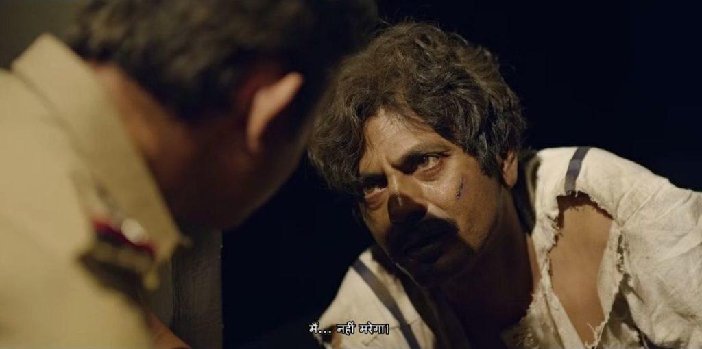 Nawazuddin Siddiqui as Ganesh Gaitonde in Sacred Games dialogues meme templates main nahi marega