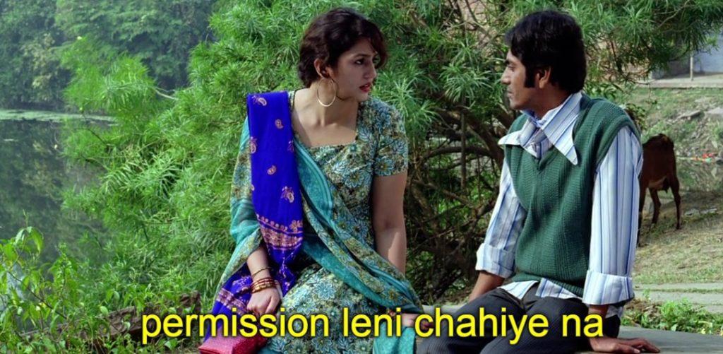 Permission leni chahiye na gangs of wasseypur meme template