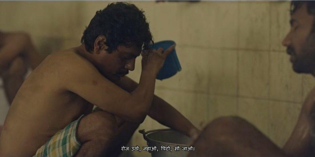 Roz utho nahao pito so jao Nawazuddin Siddiqui as Ganesh Gaitonde in Sacred Games