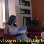 Akshay Kumar as Raju funny dialogue and Meme Template in Phir Hera Pheri Movie Yeh kaafi difficult course hai, kaafi kam log kar paate hai