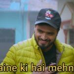 Amit Bhadana maine ki hai mehnat rap video