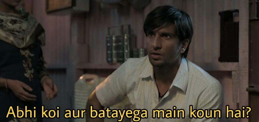 Ranveer Singh Gully By Dialogue Abhi koi aur batayega main koun hai