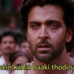 Hrithik Roshan in Agneepath song abhi mujh mein kahin baaki thodi si hai zindagi