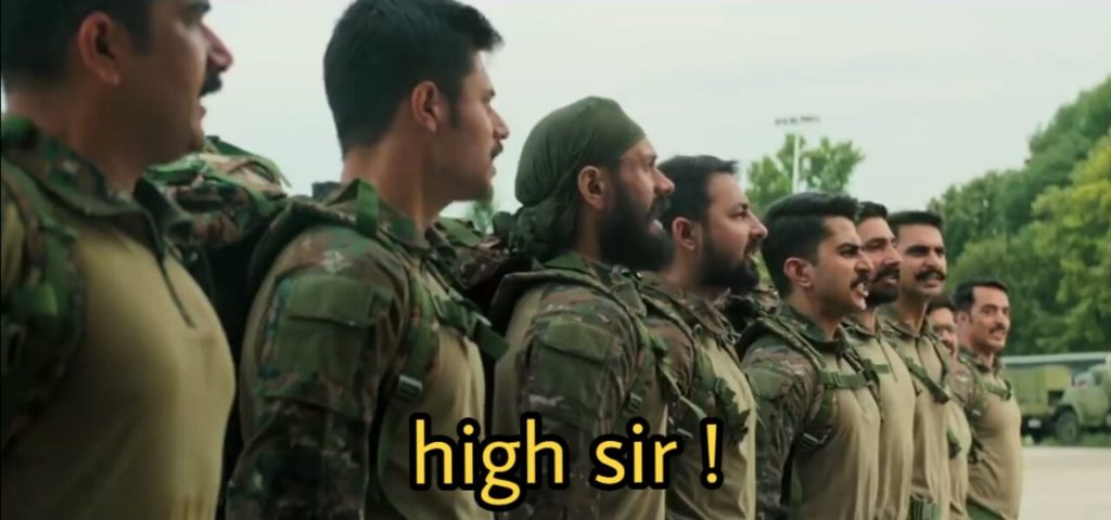 Vicky Kaushal as Major Vihaan Singh Shergill in the movie Uri The surgical strike ordering to indian army how is the josh high sir