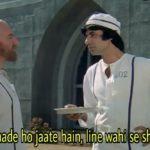 Hum jahan khade ho jaate hain line wahi se shuru hoti hain Amitabh Bachchan in Kaalia movie dialogue