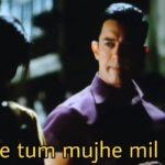 Kaise tum mujhe mil gayi Ghajani movie song aamir khan asin