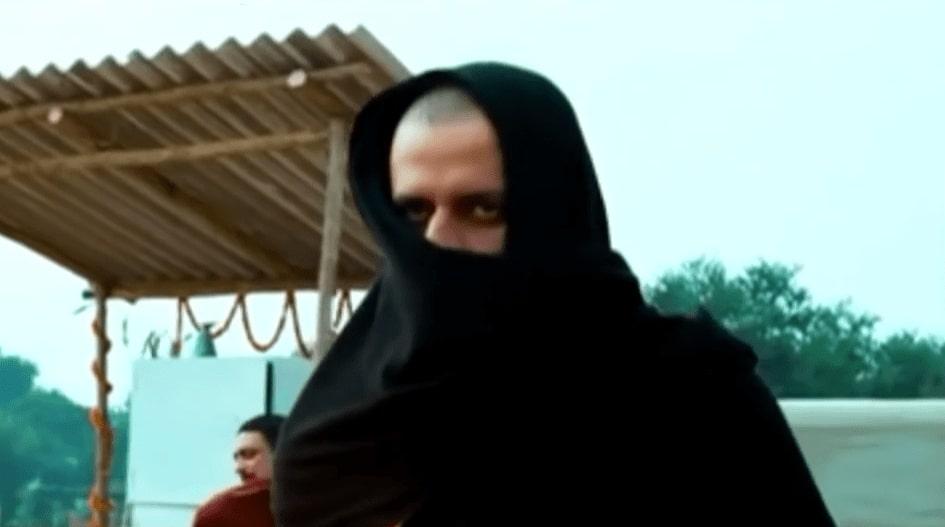 Sardar Khan Hiding His Face gangs of wasseypur meme template