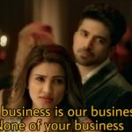 Our business is our business none of your business meme template