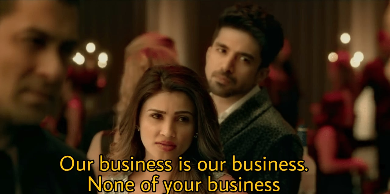 Our business is our business none of your business - Indian Meme Templates