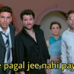 Ab ye pagal jee nahi payega anil kapoor as majnu bhai in welcome movie meme