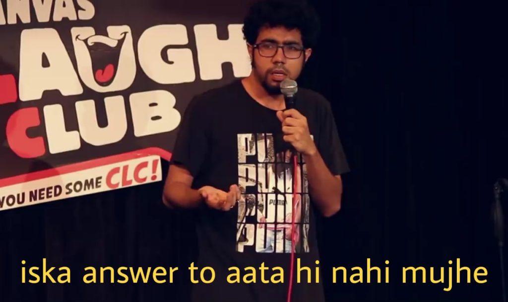 Abhishek Upmanyu iska answer to aata hi nahi mujhe meme