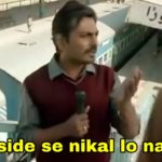 Arre side se nikal lo na yaar Nawazuddin Siddiqui in Bajrangi Bhaijaan meme