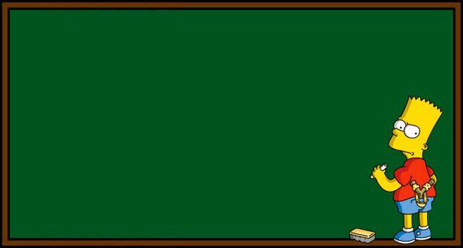 Bart Simpsons chalkboard sketch Simpsons Funny Photos Memes