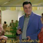 ye toh kuch bhi nahi hai meme template