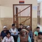 Einstein chacha of viral chaat waale brawl in jail meme