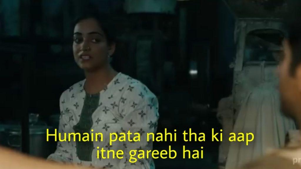 Humain pata nahi tha ki aap itne gareeb hai Gulabo Sitabo meme