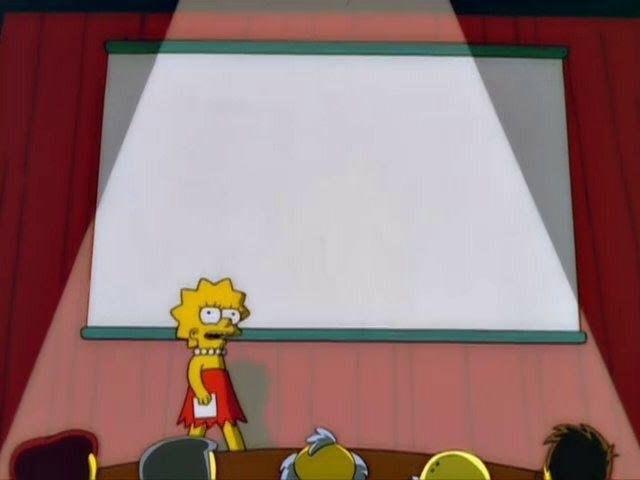 Simpsons Meme Templates Lisa Simpson's Presentation