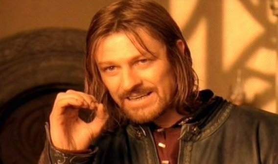 One Does Not Simply lord of the rings meme template
