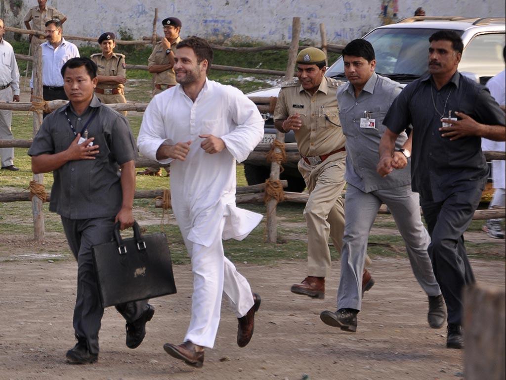 Rahul Gandhi Running funny photo meme