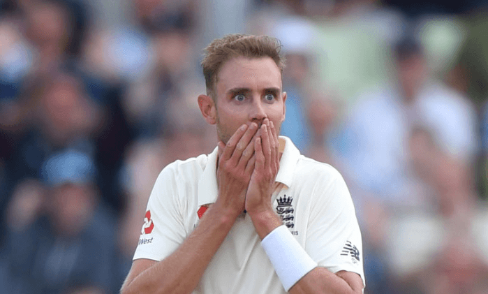 Stuart Broad Shocked funny reacton after Rory Burns takes catch Australian captain Tim Paine England Ashes 2019