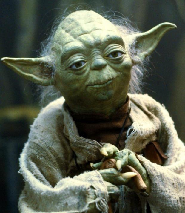 Star wars Yoda meme template