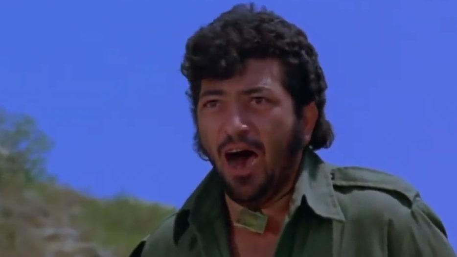 Suvar ke baccho Sholay movie Amjad Khan as Gabbar Singh