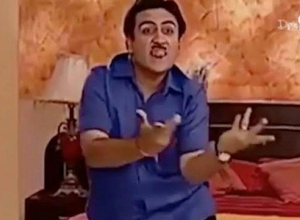 Jethalal of Taarak Mehta Ka Ooltah Chashmah Dancing funny meme