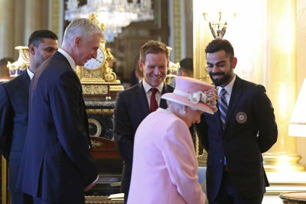 Virat Kohli Meeting England Queen Memes