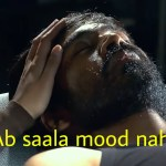 Ab saala mood nahi hai Dhanush in raanjhanaa meme template