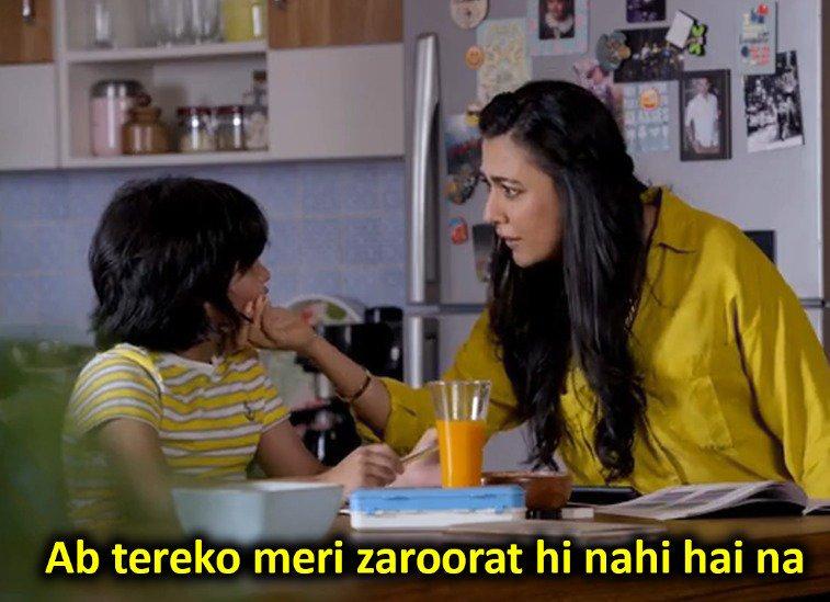 Ab tereko meri zaroorat hi nahi hai na Mind the Malhotras Amazon prime video series meme