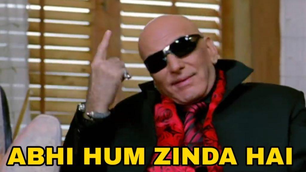 Abhi hum zinda hai welcome movie dialogue byFeroz Khan As RDX