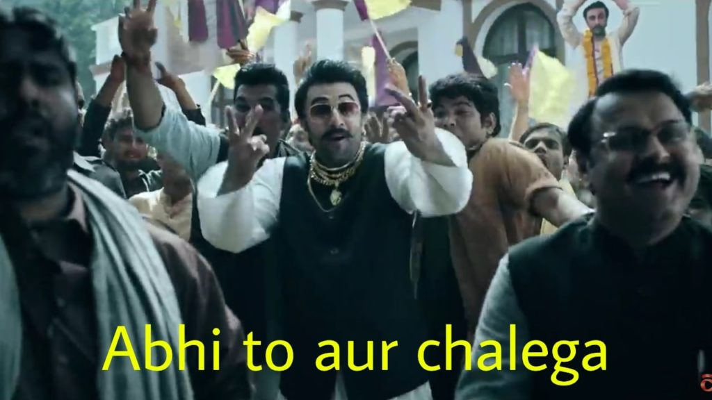 Ranbir kapoor in Asian Paints ultima protek advertisement abhi to aur chalega