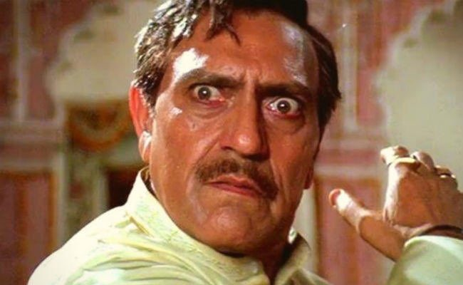 Amrish Puri in ddlj angry slapping