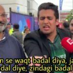 angry pakistani fan ekdum se waqt badal diya jajbaat badal diya zindagi badal di meme