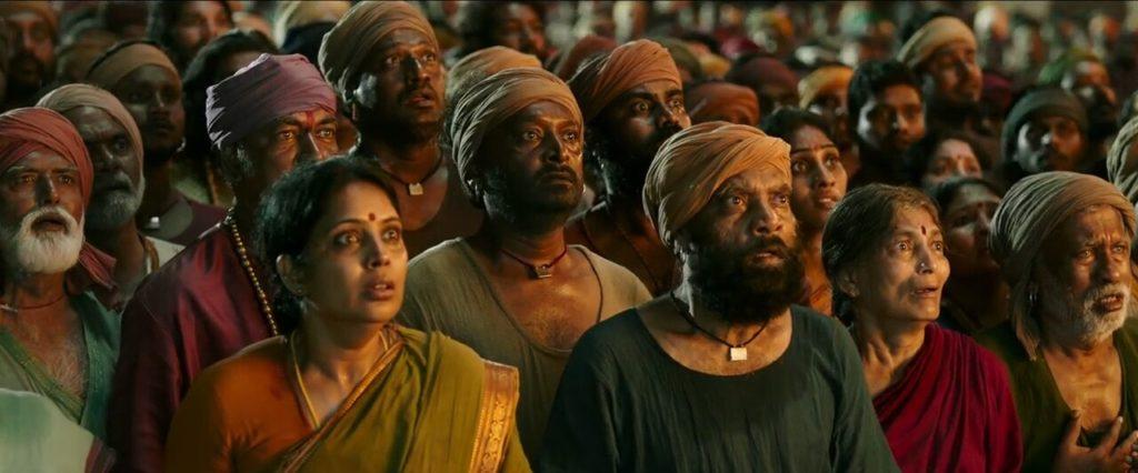 Shocked Crowd in Baahubali movie meme