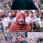 Munni Screaming Mama at pakistani border in bajrangi bhaijaan movie meme template