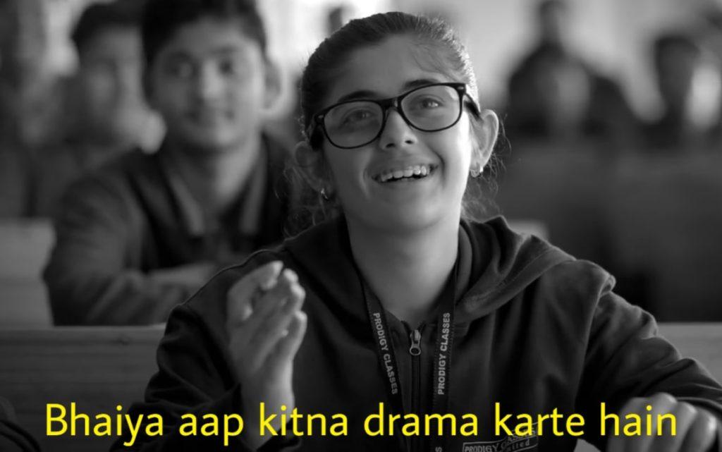 bhaiya aap kitna drama karte hain Urvi Singh as Meenal Parekh memes