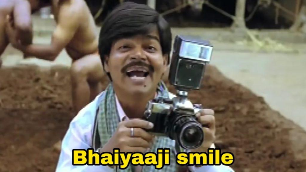 Bhaiyaaji smile dabangg movie cameraman Shyam Lal Navait