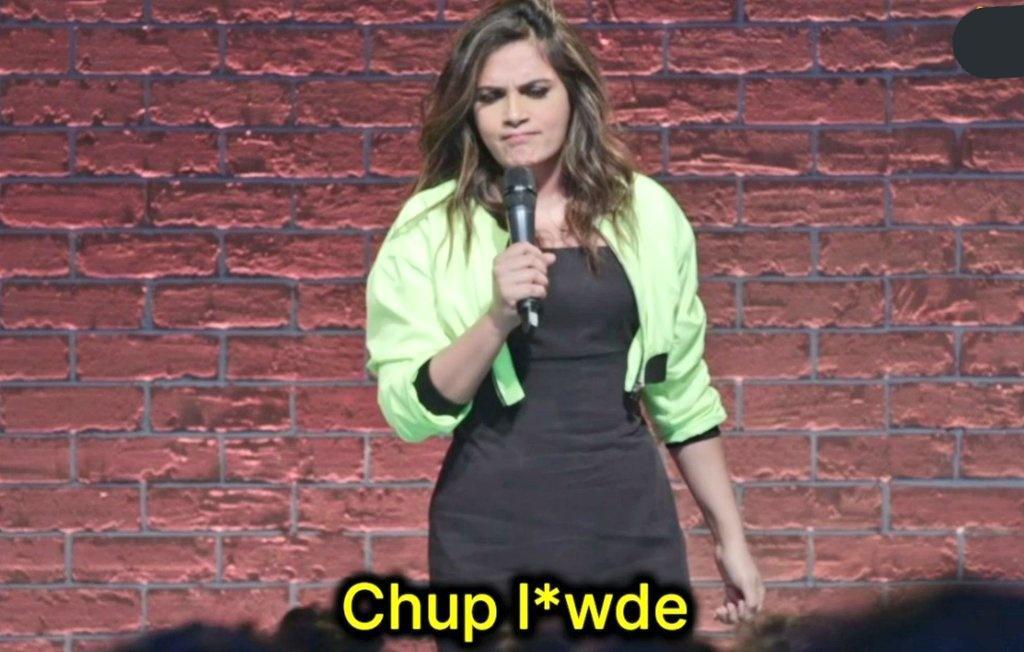 Chup L*wde Richa Chadda one mic stand amazon prime standup meme