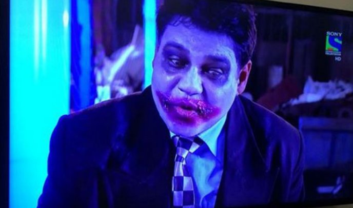 a joker type funny character was in a episode of indian TV show CID