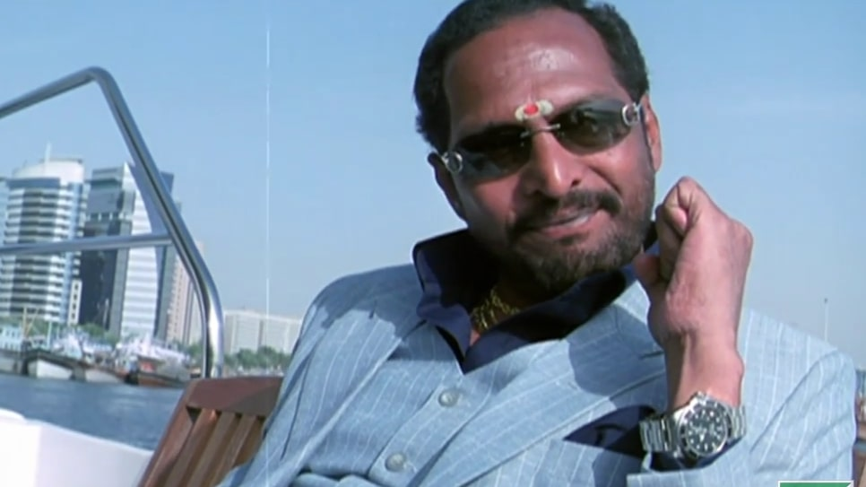 control uday control Nana Patekar  as uday shetty in the movie welcome dialogue and meme