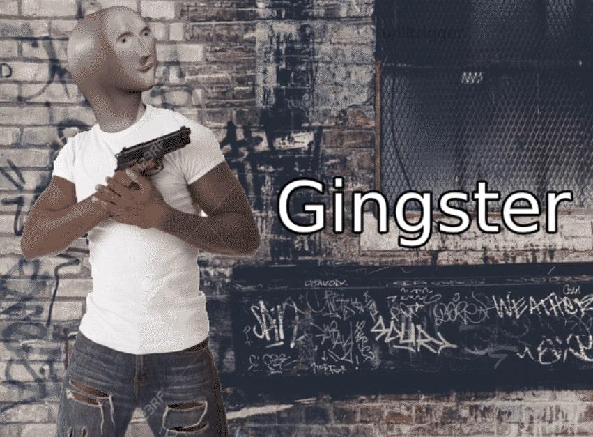 gingster surreal meme man template