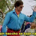 heh main ab baccho se baat nahi karta hrithik roshan in koi mil gaya dialogue and meme template