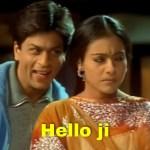 Hello ji Kabhi Khushi Kabhie Gham shah rukh Khan and kajol