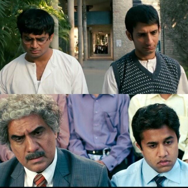 Hum dukhi the lekin humse bhi jyada dukhi 2 aur log the 3 idiots meme template