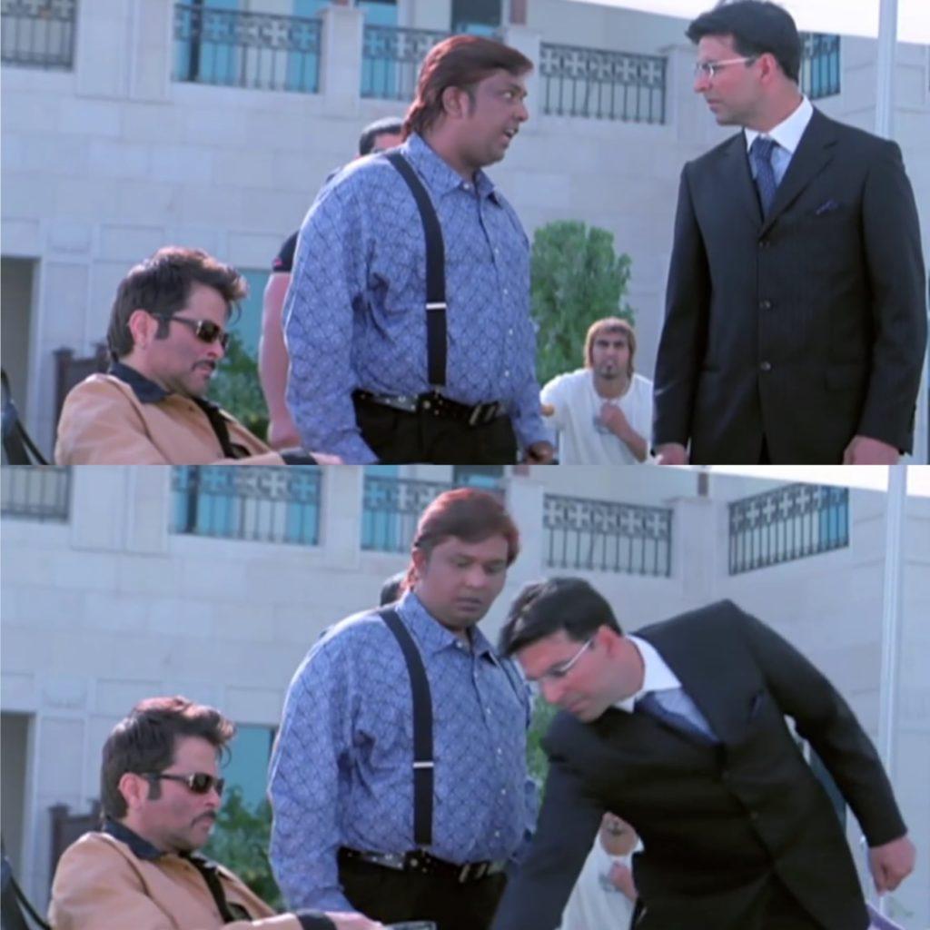 humare bhai ko koi choo bhi nahi sakta le chooa maine welcome movie meme template