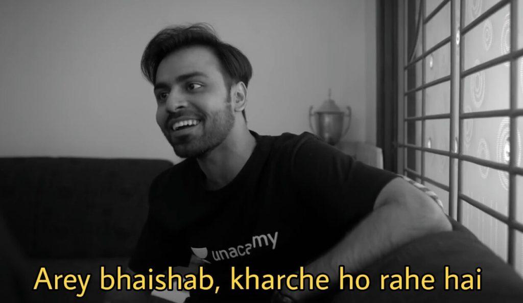Arey bhaishab kharche ho rahe hai kota factory jeetu quotes memes